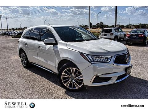 2017 Acura MDX for sale in Midland, TX