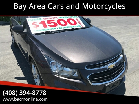 Cars For Sale Bay Area >> Chevrolet Cruze For Sale In Gilroy Ca Bay Area Cars And Motorcycles
