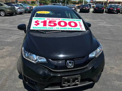 2015 Honda Fit for sale in Gilroy, CA