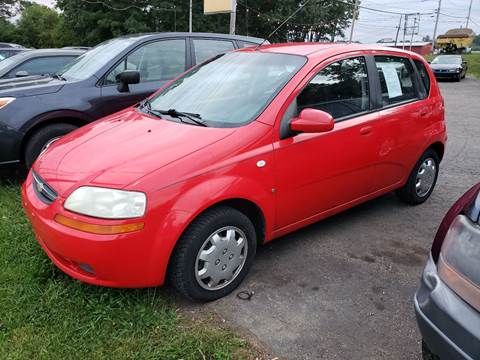 2007 Chevrolet Aveo for sale in Wadsworth, OH