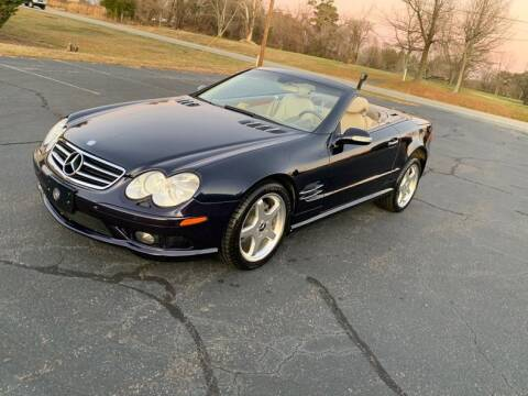 2003 Mercedes-Benz SL-Class SL 500 for sale at Central Classic Cars LTD in Sylvania OH