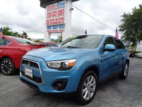 2014 Mitsubishi Outlander Sport for sale in Fort Myers, FL