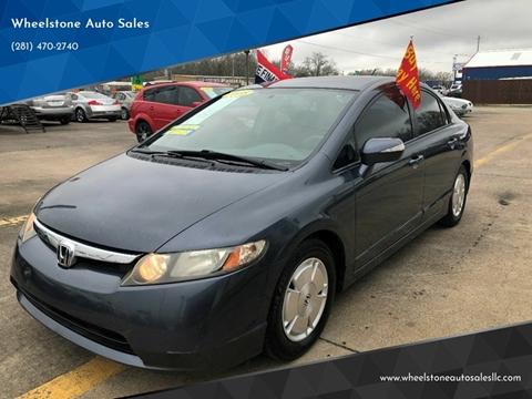 2008 Honda Civic for sale in La Porte, TX