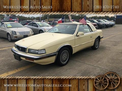 1990 Chrysler TC for sale in La Porte, TX