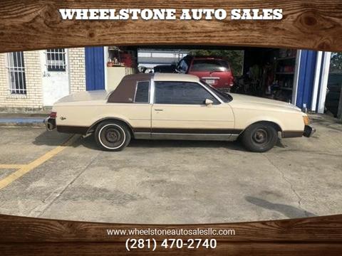 1982 Buick Regal >> 1982 Buick Regal For Sale In La Porte Tx