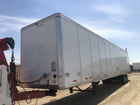 2008 Wabash 53' Dry Van Trailer for sale in Fontana, CA