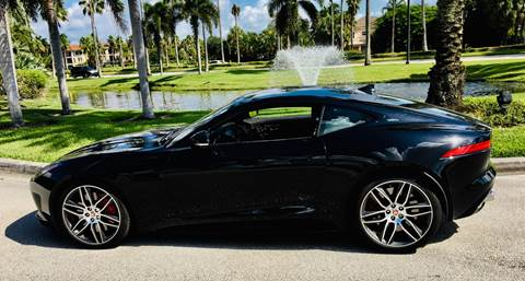 Used Cars West Palm Beach >> 2017 Jaguar F Type For Sale In West Palm Beach Fl
