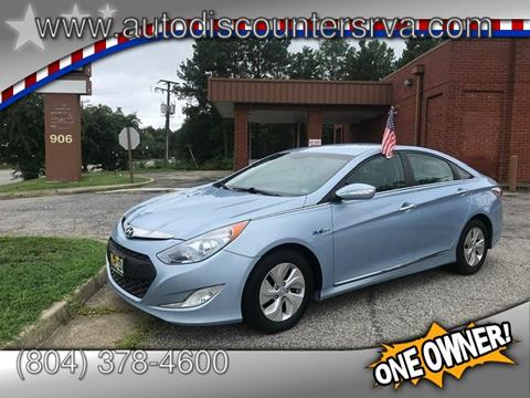 Cars For Sale Richmond Va >> 2014 Hyundai Sonata Hybrid For Sale In Richmond Va