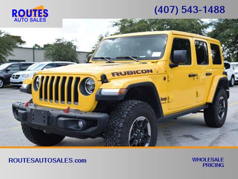 2019 Jeep Wrangler Unlimited for sale in Orlando, FL
