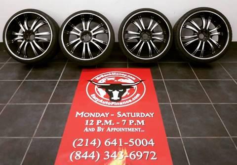 24-Inch Wheels & Tires 24-INCH CUSTOM WHEELS & TIRES for sale in Dallas, TX