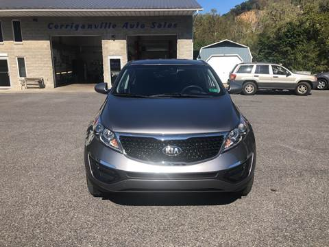 2016 Kia Sportage LX for sale at Corriganville Auto Sales in Cumberland MD