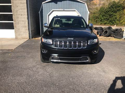 2015 Jeep Grand Cherokee Limited for sale at Corriganville Auto Sales in Cumberland MD