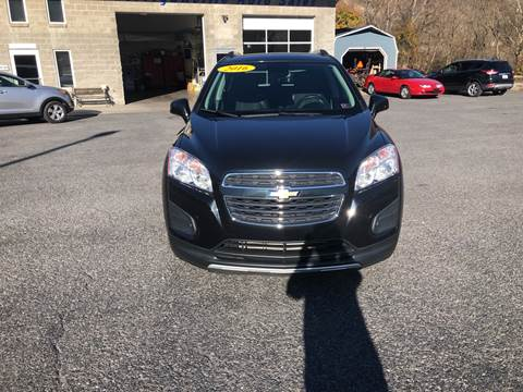 2016 Chevrolet Trax LT for sale at Corriganville Auto Sales in Cumberland MD