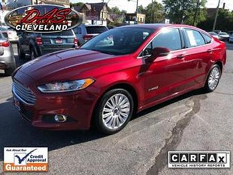 Ford Fusion Hybrid For Sale >> Ford Fusion Hybrid For Sale In Cleveland Oh Das Credit Center