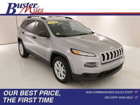 2016 Jeep Cherokee for sale in Heflin, AL