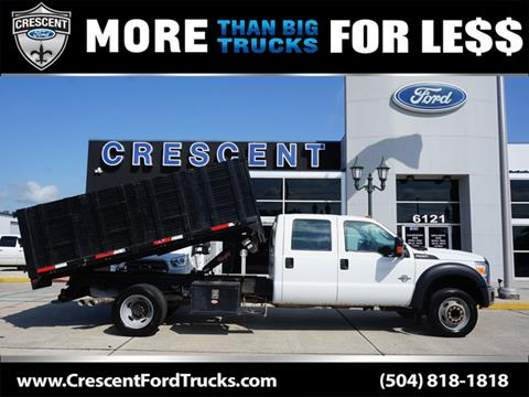 2012 Ford F-550 Super Duty for sale in Harahan, LA