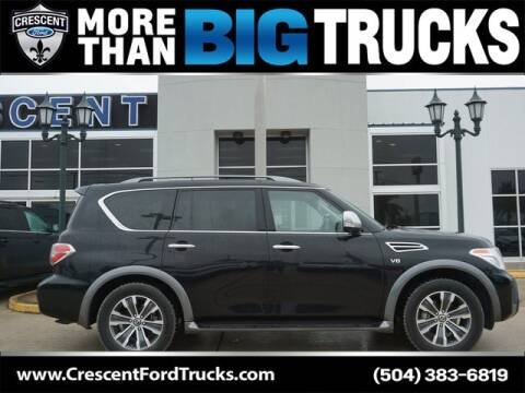 2019 Nissan Armada for sale at Crescent Ford in Harahan LA