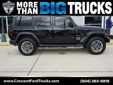 2019 Jeep Wrangler Unlimited for sale at Crescent Ford in Harahan LA