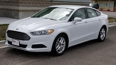 2016 Ford Fusion for sale in Garden City, ID