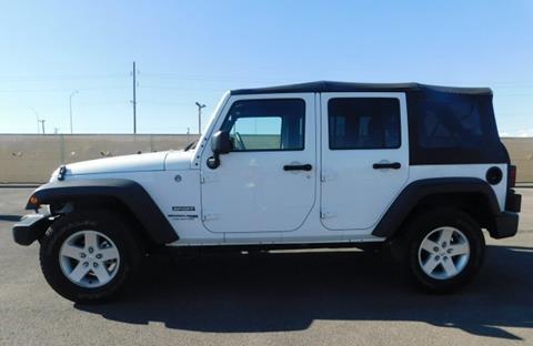 Jeep El Paso >> 2018 Jeep Wrangler Unlimited For Sale In El Paso Tx