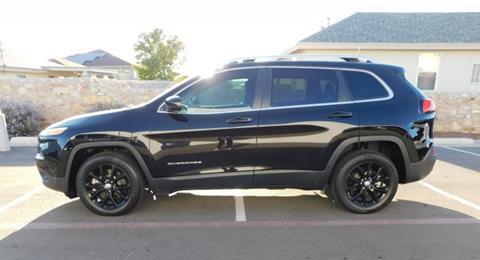 2018 Jeep Cherokee for sale in El Paso, TX