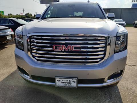2017 GMC Yukon for sale in Garland, TX