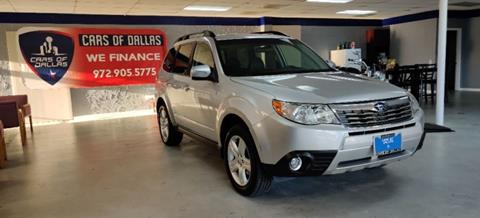 2010 Subaru Forester for sale in Garland, TX