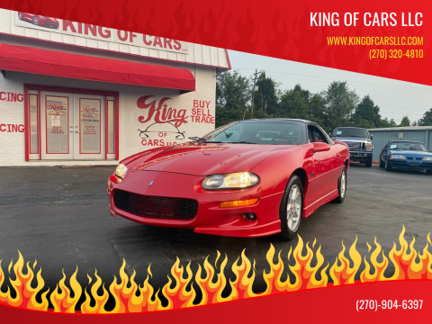 2002 Chevrolet Camaro for sale at King of Cars LLC in Bowling Green KY