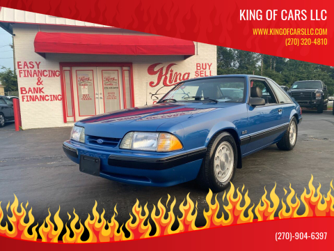1989 Ford Mustang for sale at King of Cars LLC in Bowling Green KY