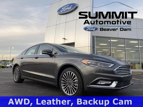 2017 Ford Fusion for sale in Beaver Dam, WI