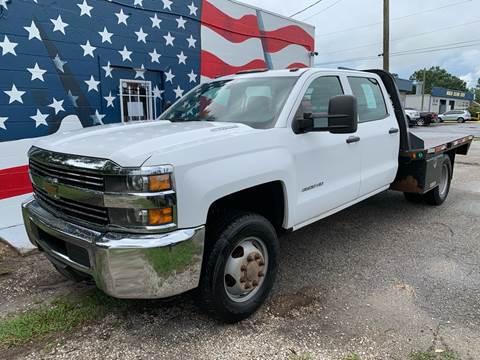 2015 Chevrolet Silverado 3500HD CC for sale in Lakeland, FL