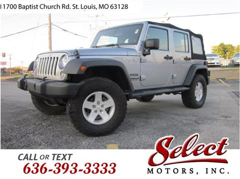 2014 Jeep Wrangler Unlimited for sale in Saint Louis, MO
