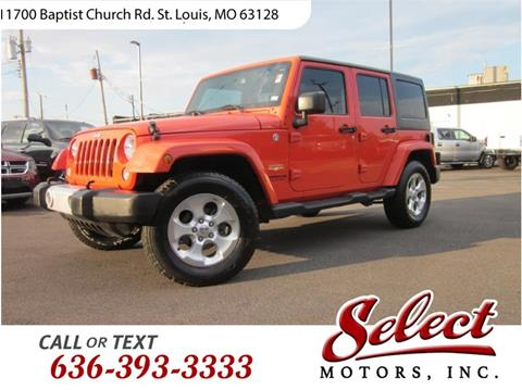 2015 Jeep Wrangler Unlimited for sale in Saint Louis, MO
