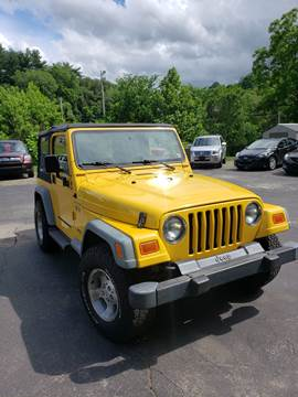 2002 Jeep Wrangler for sale in Cecil, PA