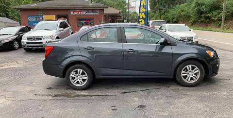 2013 Chevrolet Sonic for sale in Cecil, PA
