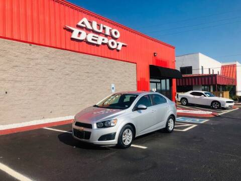 2015 Chevrolet Sonic for sale at Auto Depot of Madison in Madison TN