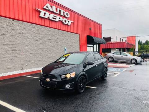 2016 Chevrolet Sonic for sale at Auto Depot of Madison in Madison TN