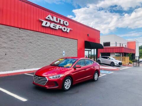 2017 Hyundai Elantra for sale at Auto Depot of Madison in Madison TN