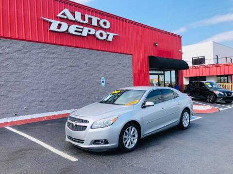 2013 Chevrolet Malibu for sale at Auto Depot of Madison in Madison TN