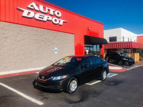 2014 Honda Civic for sale at Auto Depot of Madison in Madison TN