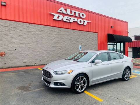 2016 Ford Fusion for sale at Auto Depot of Madison in Madison TN