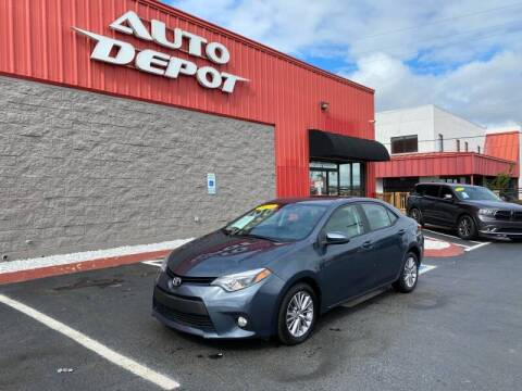 2014 Toyota Corolla for sale at Auto Depot of Madison in Madison TN