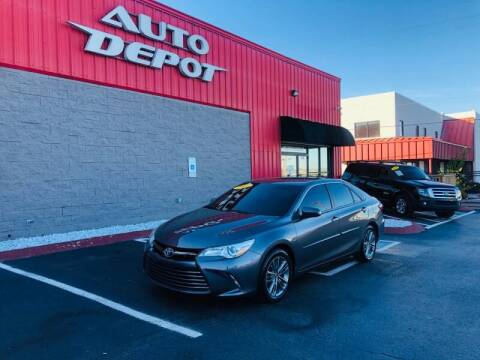 2016 Toyota Camry for sale at Auto Depot of Madison in Madison TN