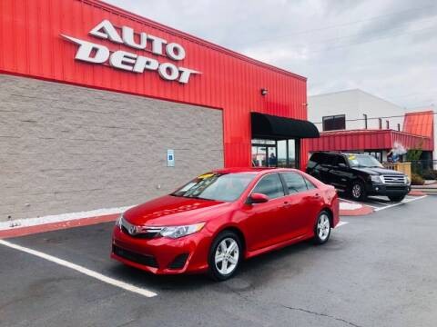 2012 Toyota Camry for sale at Auto Depot of Madison in Madison TN