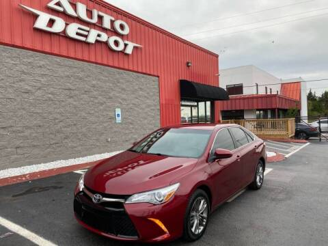 2017 Toyota Camry for sale at Auto Depot of Madison in Madison TN