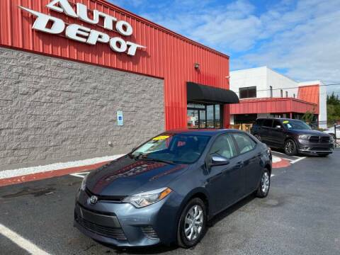2016 Toyota Corolla for sale at Auto Depot of Madison in Madison TN