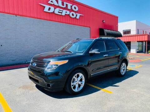 2015 Ford Explorer for sale at Auto Depot of Madison in Madison TN