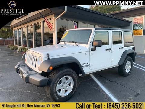 2011 Jeep Wrangler Unlimited for sale in New Windsor, NY