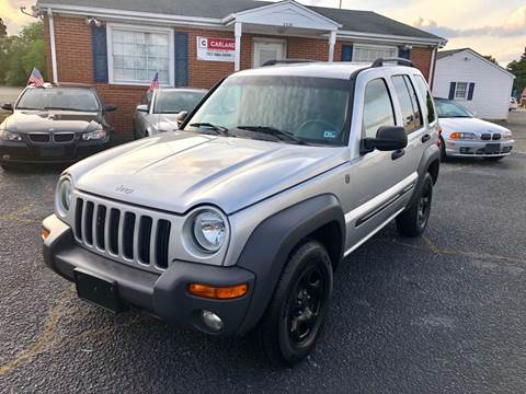 2004 Jeep Liberty for sale in Portsmouth, VA