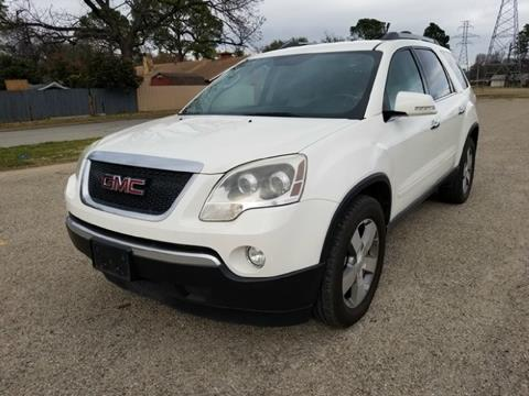 2011 GMC Acadia for sale in Fort Worth, TX